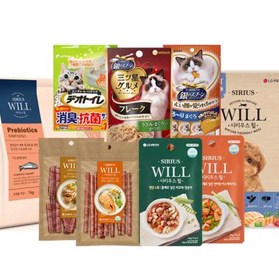 시리우스 강아지간식 미쓰보시 고양이간식 강아지,고양이 사료&간식 모음