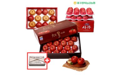 경북능금농협 과일세트 황금과일선물세트