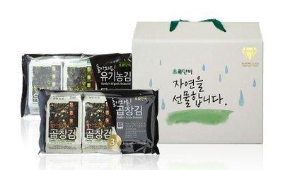초록단비 유기농 김 선물세트 9+1 프리미엄 광천김 선물 기획전