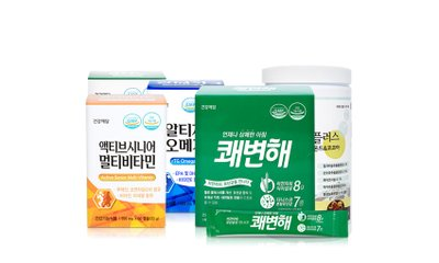 건강애담 멀티비타민 오메가3 칼슘 외