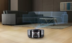 LG 코드제로 R9 로봇청소기 더 강력한 흡입력! 스마트인버터모터