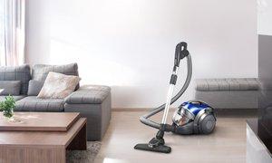 LG 싸이킹 일반청소기 자동먼지압축기술. 더강력해진흡입력