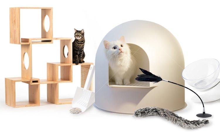 피단스튜디오 감성적인 디자인 고양이용품