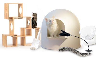 감성적인 디자인 고양이용품