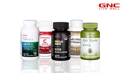 세계적인브랜드 GNC 봄맞이 건강 추천상품