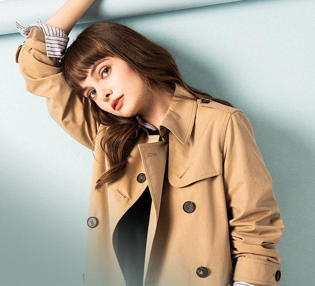 신세계백화점 여성 트렌치코트 FAIR