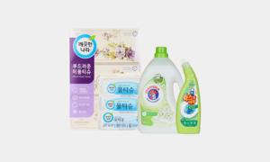 우리집 생활용품 채우기 티슈/세제/샴푸/비누 外