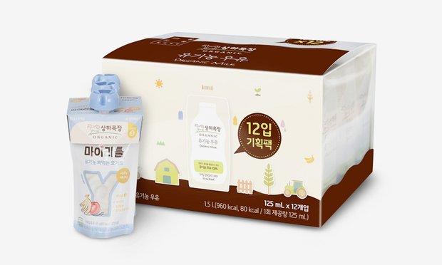 상하목장 유기농 유제품 2개 동시 구매시 10% 기획