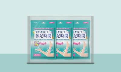 휴족시간 쿨링시트 발/종아리 마사지 효과 발마사지냉각패치 6매 x 3개 (18매)