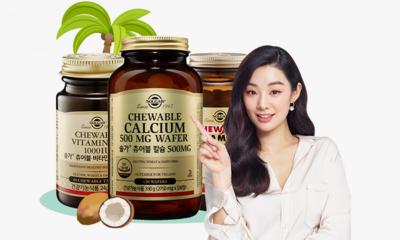 [솔가] 솔가비타민 BRAND NEW 츄어블칼슘!