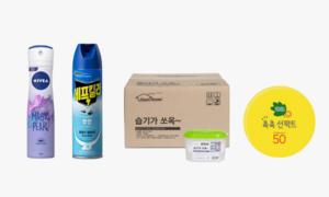 [생활]여름시즌 필수품 제습제/모기약 썬케어/데오