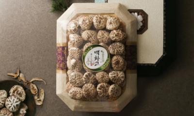 장흥 정남진 농협 명절 명품 선물세트 백화고/ 흑화고/ 표고버섯혼합
