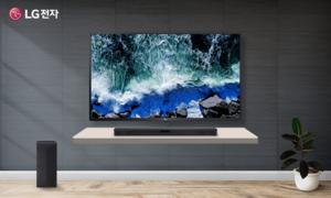 LG전자 TV&사운드바 세트모델 풍부한 사운드와 인공지능의 만남!