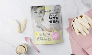 베베당 유기농 아이쌀과자 떡뻥/스틱/팝