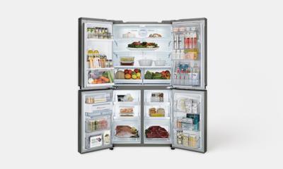 LG DIOS 상냉장하냉동 냉장고 냉장실을 위로, 냉동실을 아래로