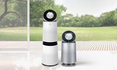 360도공기청정 365일건강하게 LG PuriCare 360 공기청정기
