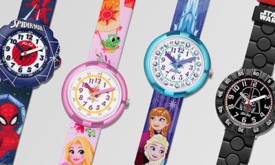 스와치&플릭플락 겨울왕국 포함 캐릭터시계 단독판매