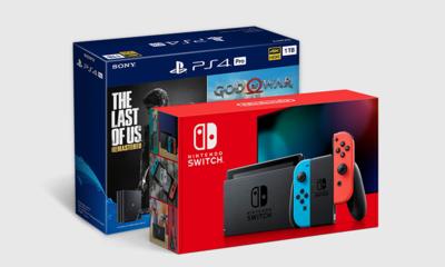 PS4 vs 닌텐도 이번주 브랜드 라이벌