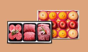 [2020년 설] 설 선물세트 명품횡성청정한우 과일/곶감