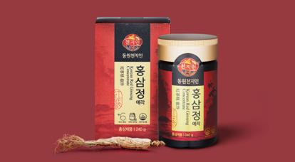 동원이 제대로 만든 동원천지인 홍삼