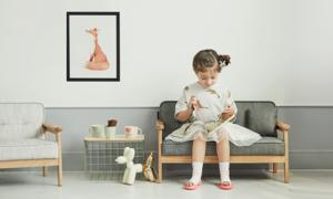 [팀버토츠] 북유럽 디자인 유아동 소파