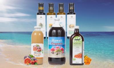 전세계 유기농 수입완제품 하와이노니,비타민열매,씨드오일 등