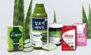 건강식품 명가 녹십초 가족건강 특집