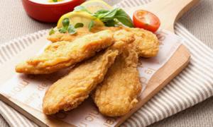바삭촉촉 튀김간식 새우볼/멘보샤/치킨텐더/꿔바로우 아이 반찬,간식