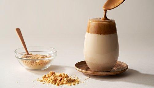 달고나 커피 만들기
