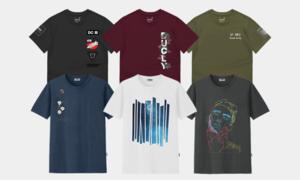 듀클라이X러더 반팔티 M~4XL 빅사이즈 남자티셔츠 신상 프리미엄 반팔티셔츠