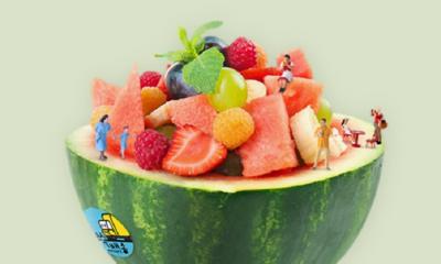 여름 대표 별미 초간단 화채 만들기