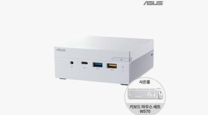 ASUS mini PC 런칭 SSG 기획 행사