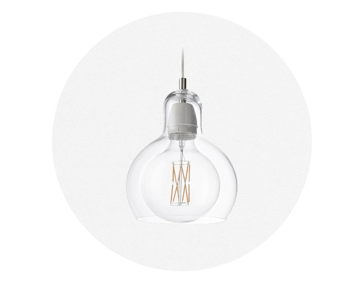 &TRADITION Mega Bulb SR2 Clear/Clear Cord