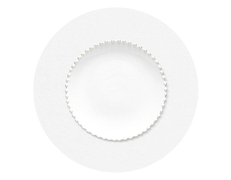 코스타 노바 화이트 펄 22cm 샐러드 접시