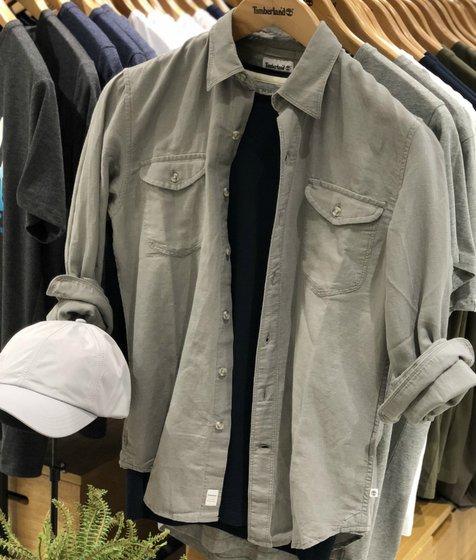 남여공용 밀 리버 셔츠