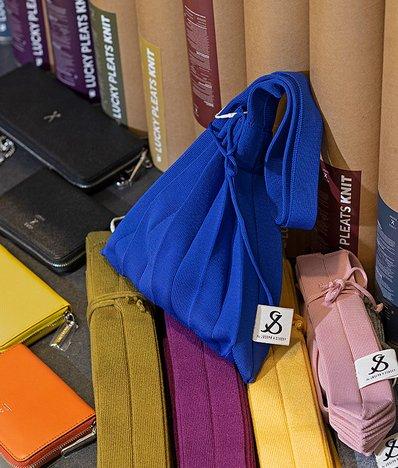 [조셉앤스테이시] Lucky Pleats Knit S Royal Blue