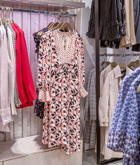프린트믹스 드레스