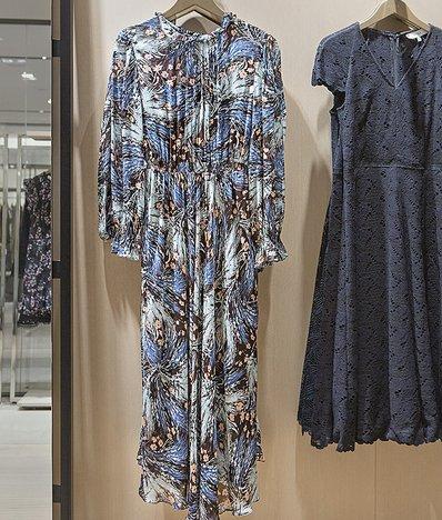 프린트 드레스