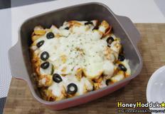치즈가 쭉쭉 늘어나는 닭가슴살 우동 볶음 레시피 :)