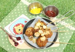 아빠가 만든 인삼 칩 핫도그! 어른도 아이도 쉽게 즐기는 핵~도그!