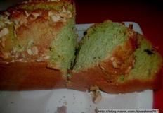 믹스제품 활용한 간식/녹차 파운드 케이크