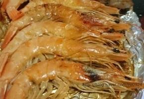 고기 먹을때 새우는 플러스 새우버터구이 만들어먹었어요