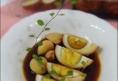 홍삼액 계란 장조림
