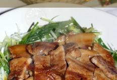 돼지고기 간장조림 차슈 만들기.
