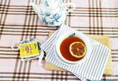 신선한 레몬을 넣은 레몬홍차, 레몬티 만들기