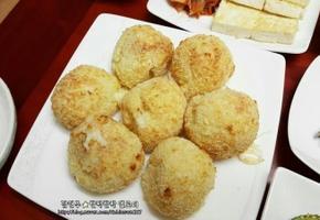 에어프라이어 감자치즈볼- 간단재료&노오일 간식