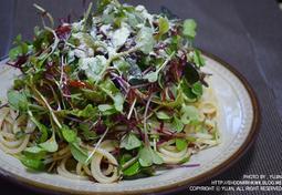 [자취요리/간단요리] 미즈컨테이너 샐러드파스타 만들기