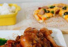 닭다리 오븐구이 & 또띠아 피자