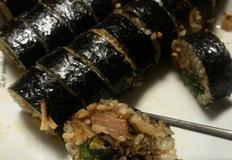 이번 추석엔 속이 꽉찬 갈비찜 김밥 만들기(남은 명절음식 활용)
