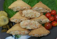 연어통조림 유부초밥(입맛없는 아침에 초간단 레시피)
